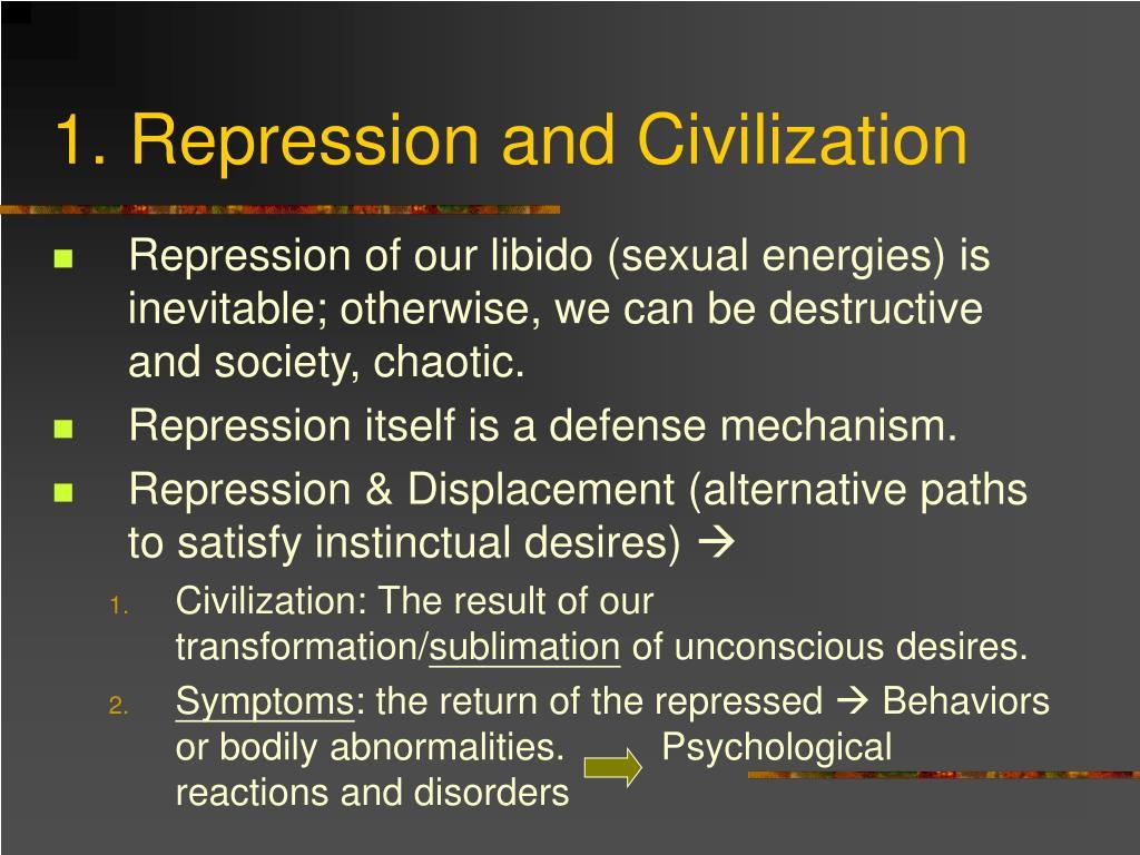1. Repression and Civilization