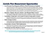 coriolis flow measurement opportunities