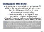 demographic time bomb