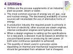 4 utilities