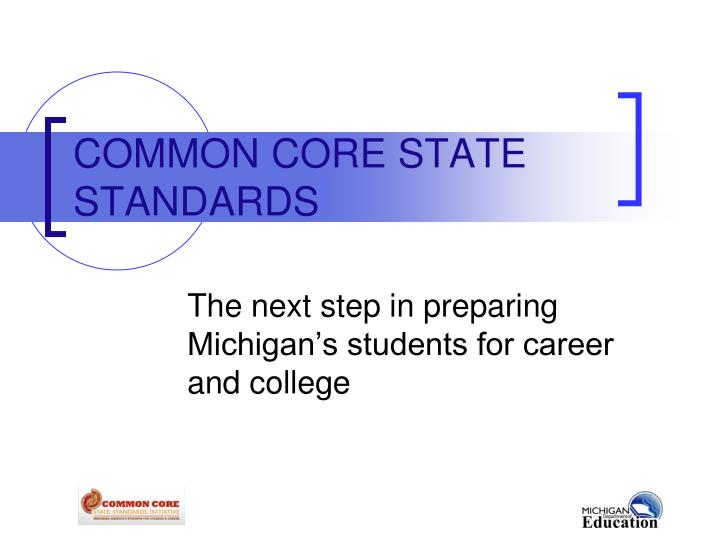 common core state standards n.
