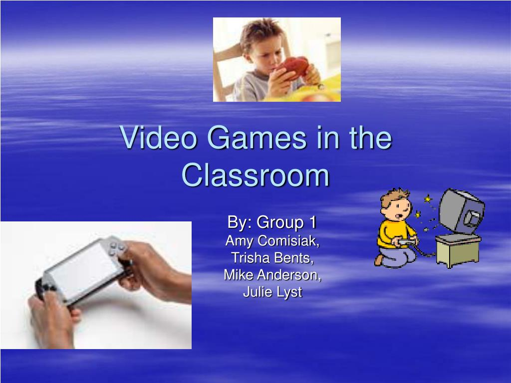 video games in the classroom l.