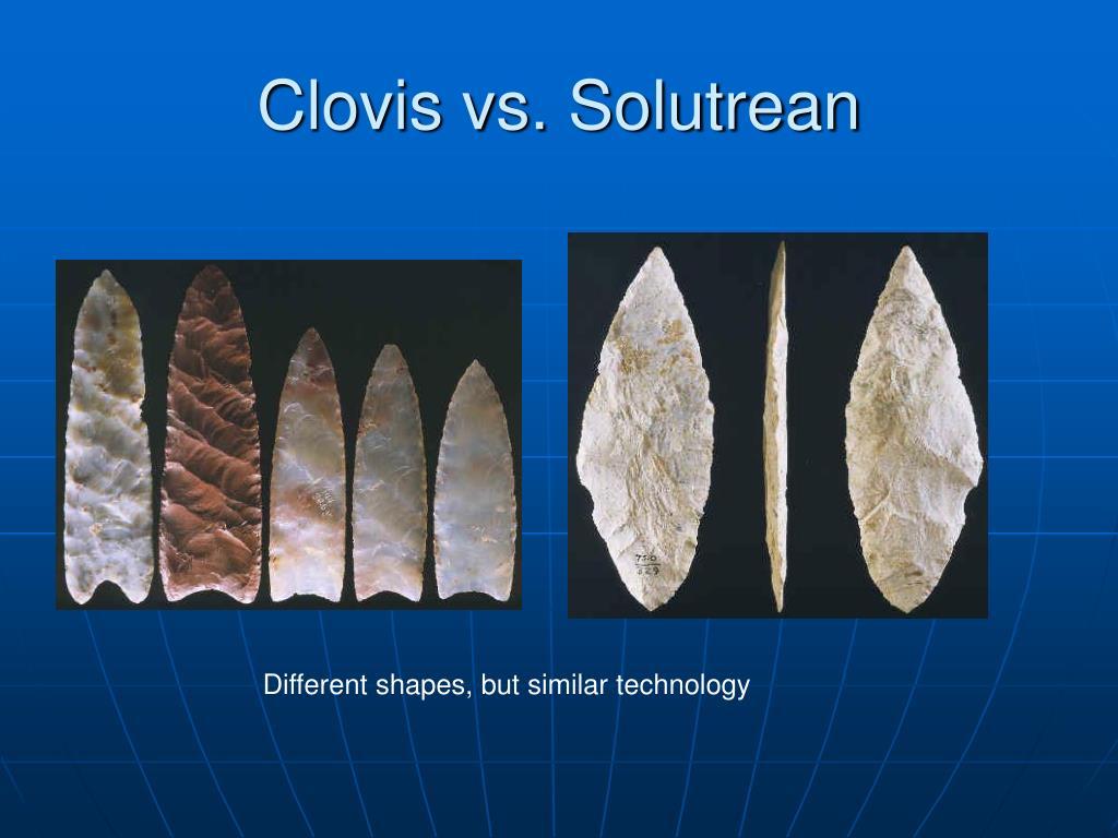 Clovis vs. Solutrean