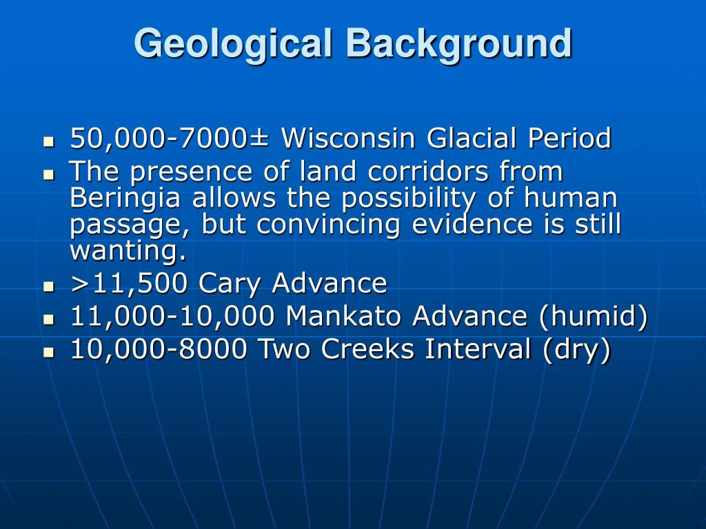 Geological Background