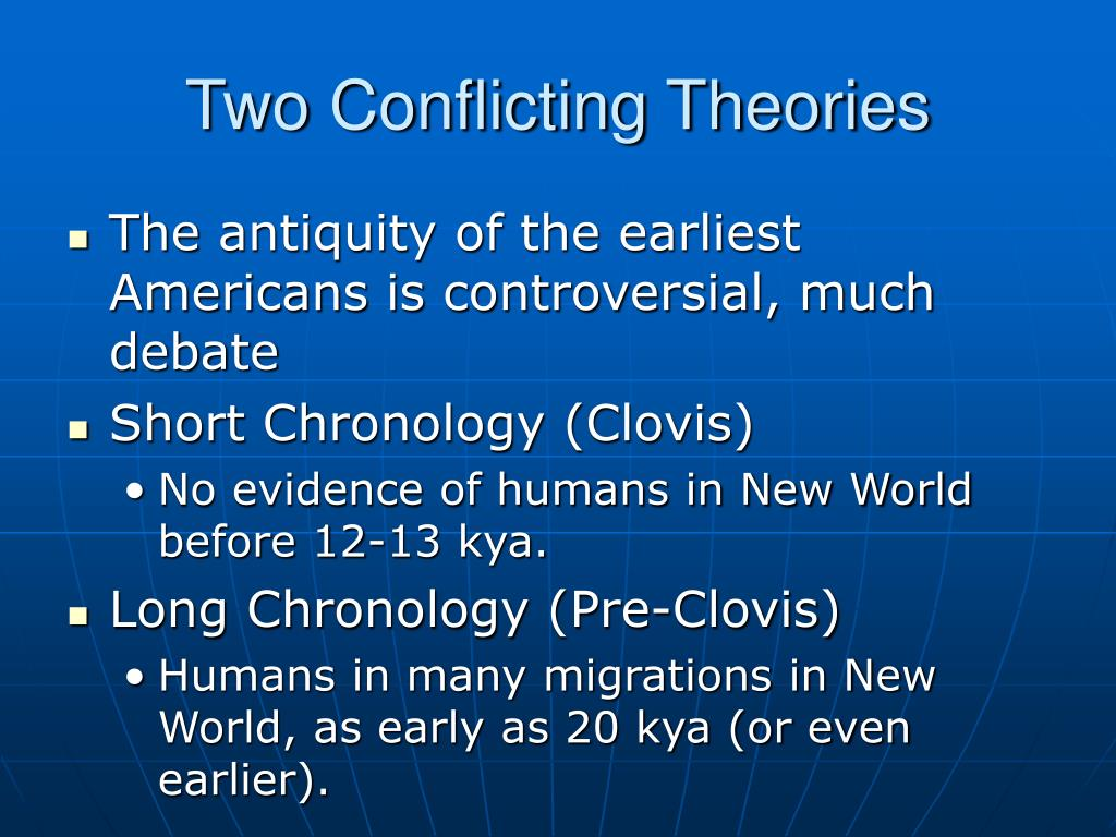 Two Conflicting Theories