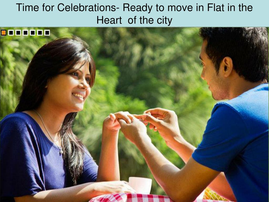 Time for Celebrations- Ready to move in Flat in the Heart  of the city