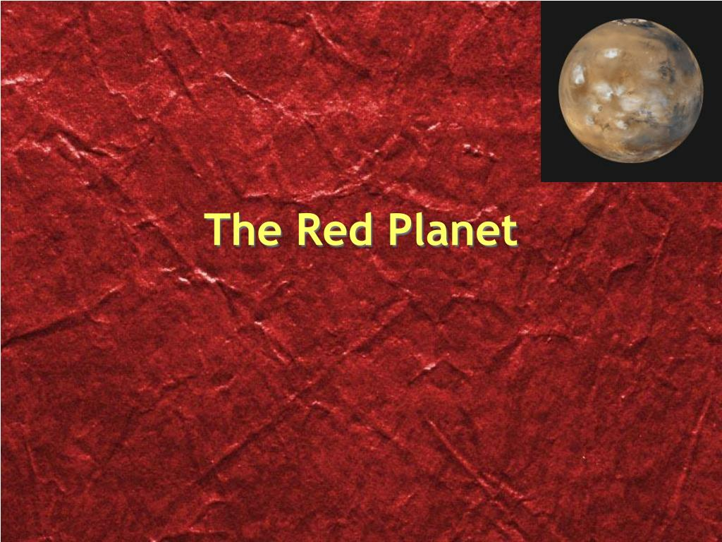 the red planet l.