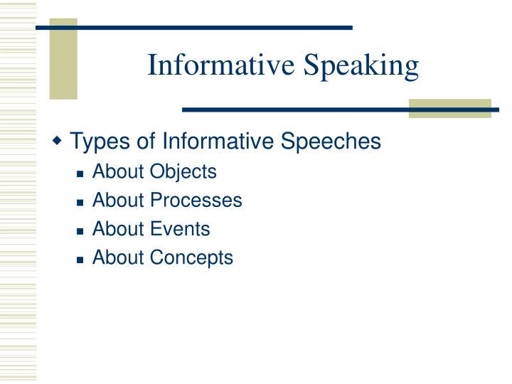 Ppt Informative Speaking Powerpoint Presentation Free Download Id 393475