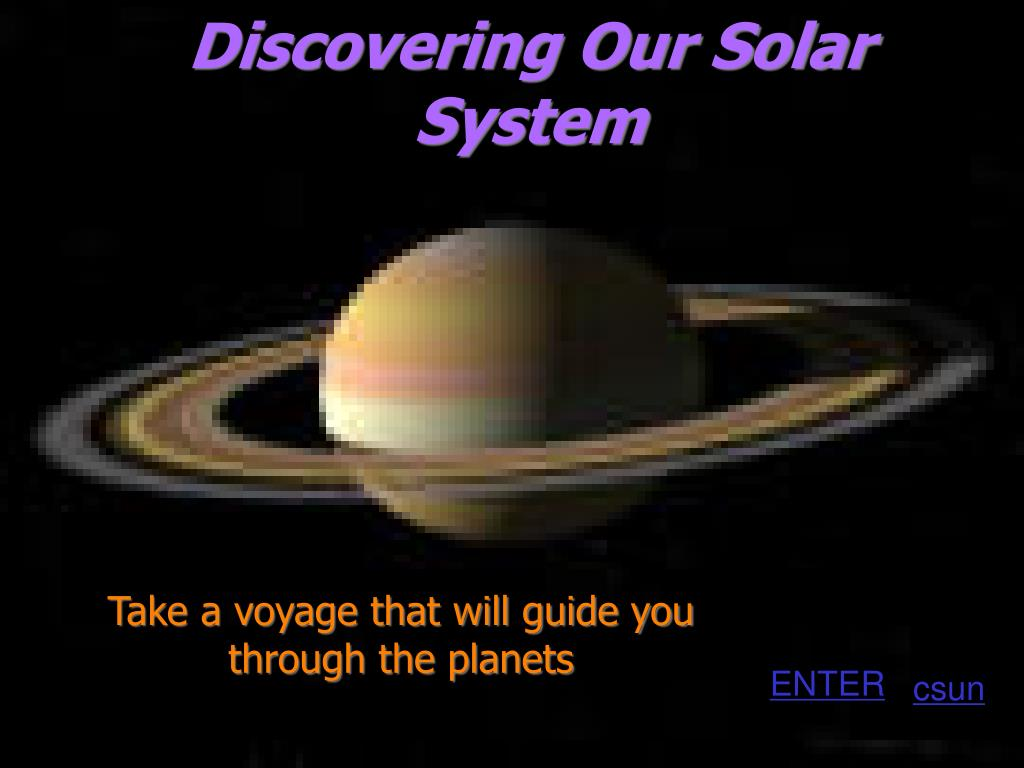 discovering our solar system l.
