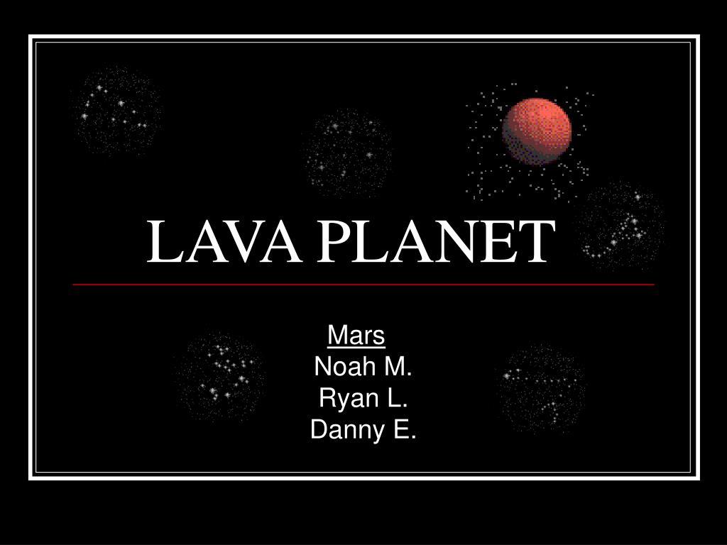 lava planet l.