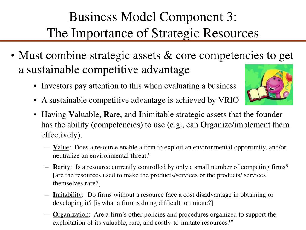 Business Model Component 3: