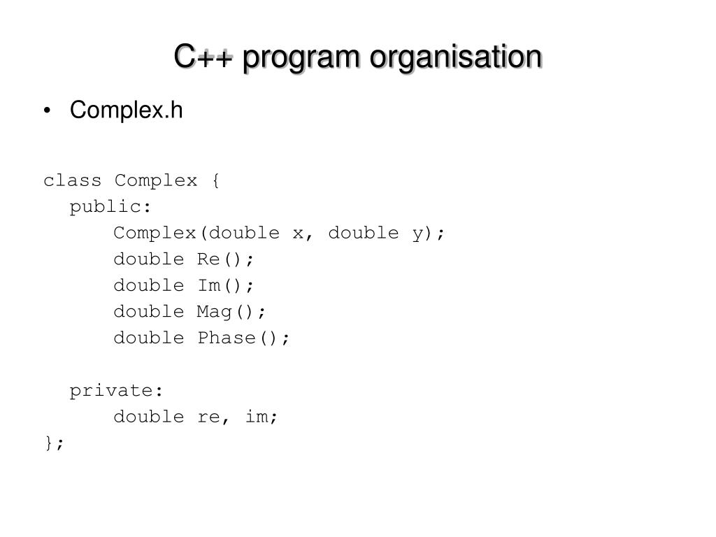 Complex.h