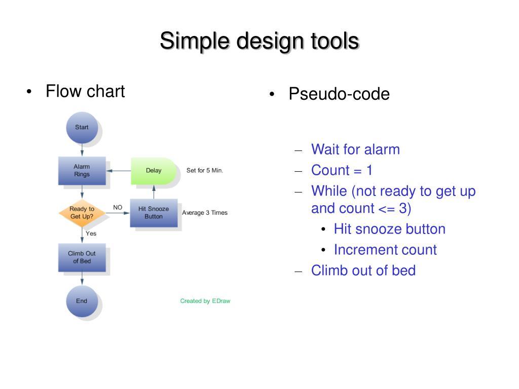 Simple design tools