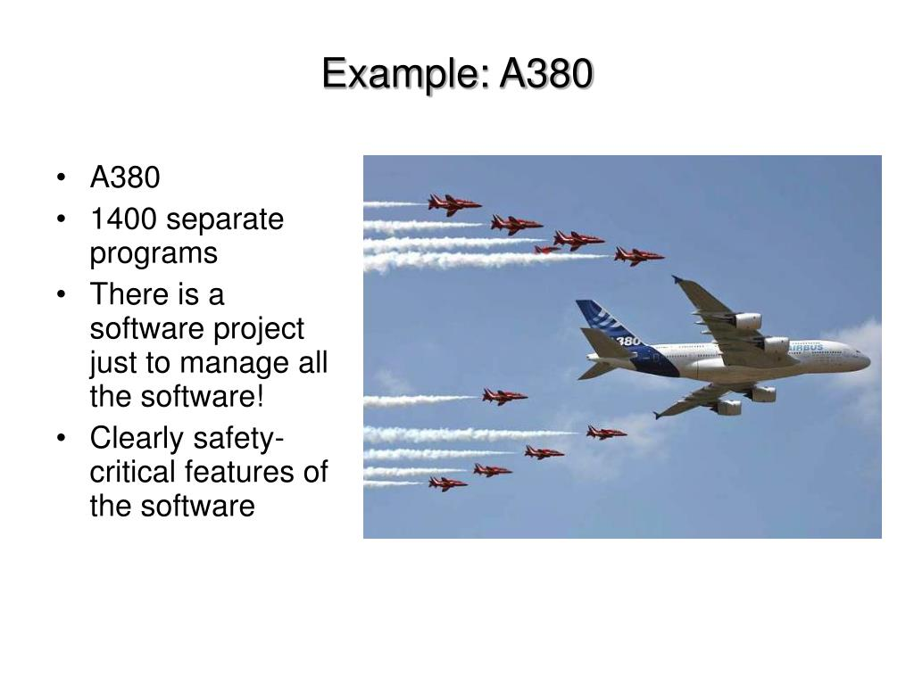 Example: A380