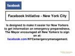 facebook initiative new york city