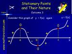 stationary points and their nature