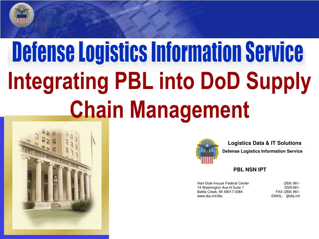 integrating pbl into dod supply chain management l.
