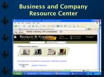 business and company resource center18