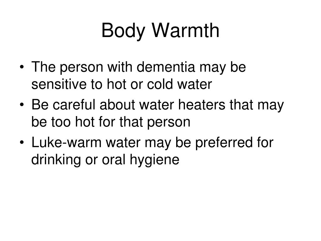 Body Warmth