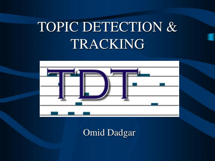 topic detection tracking n.