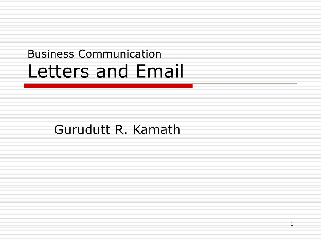 business communication letters and email l.