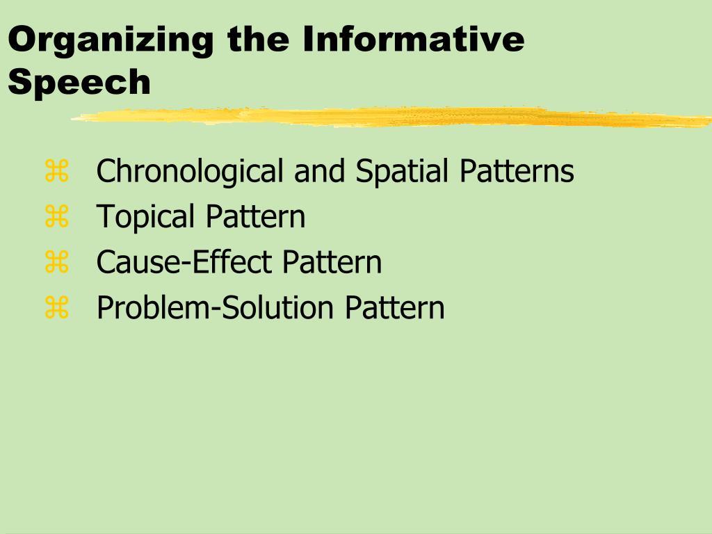PPT - Informative Speeches PowerPoint Presentation - ID:394038