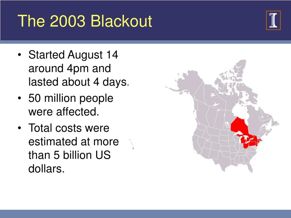 The 2003 Blackout