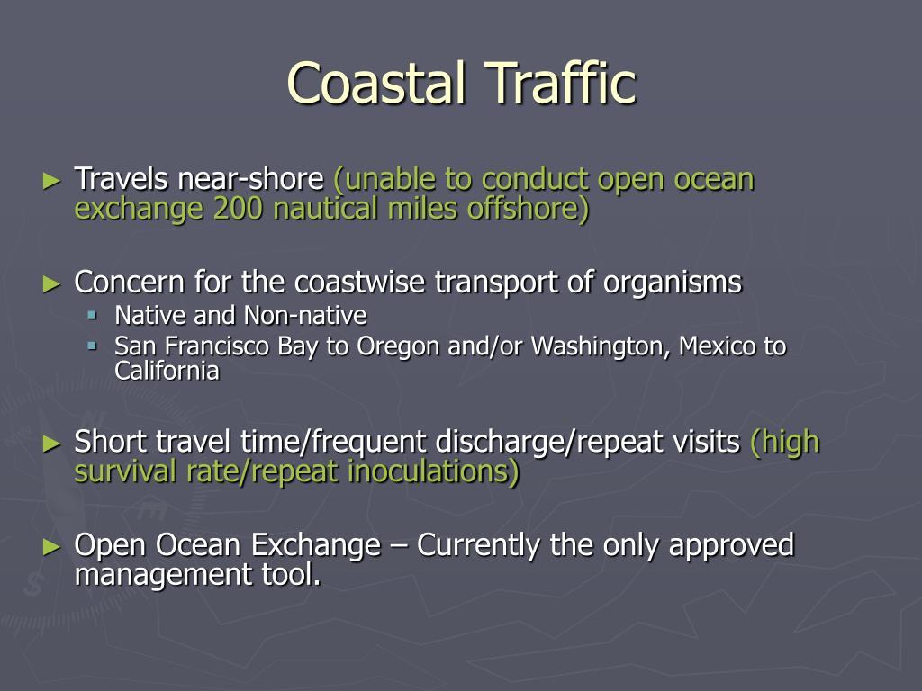 Coastal Traffic