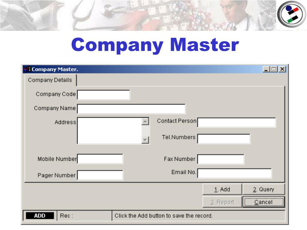 company master l.