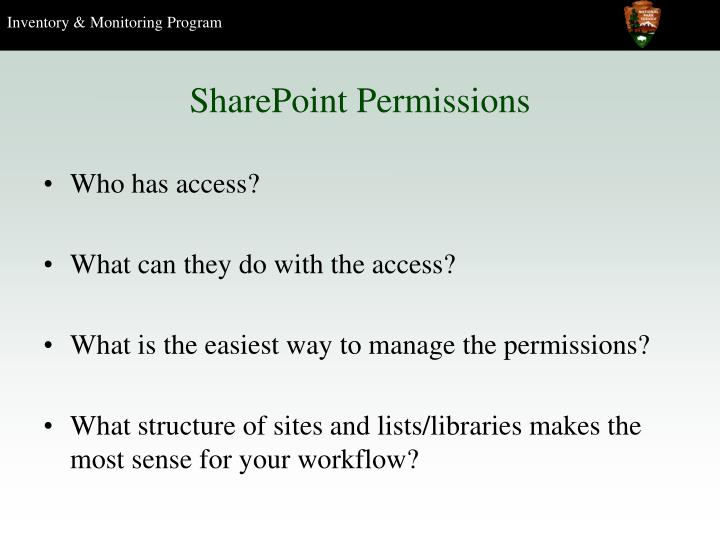 sharepoint permissions n.
