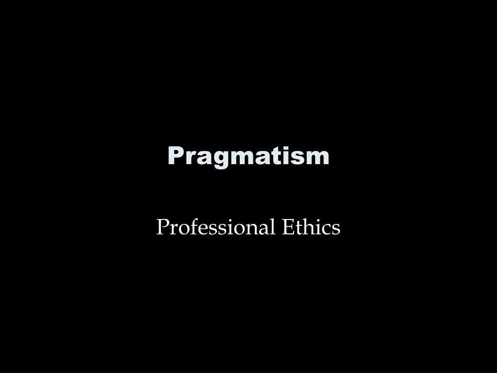 pragmatism l.