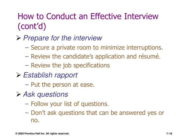 how to conduct a job interview essay Read this short essay on job interview (516 words)  the interview is the first interaction of the candidates with the company having the interview conducted in your own office place also serves to educate the candidates about their future workplace while going to the interview, the candidate.