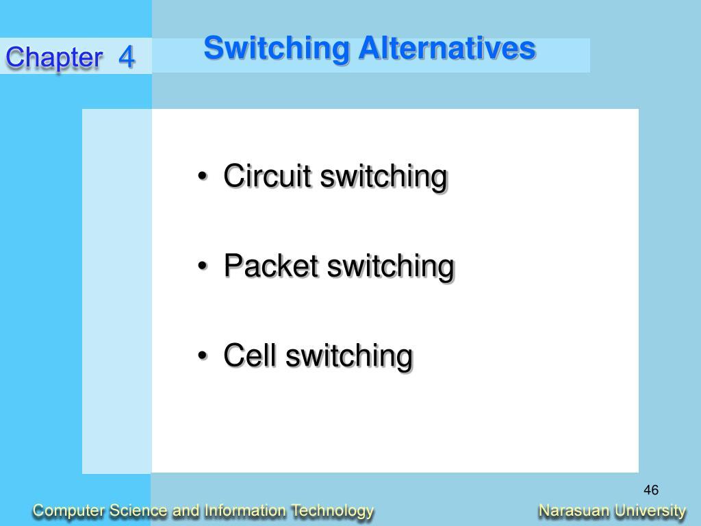 Switching Alternatives