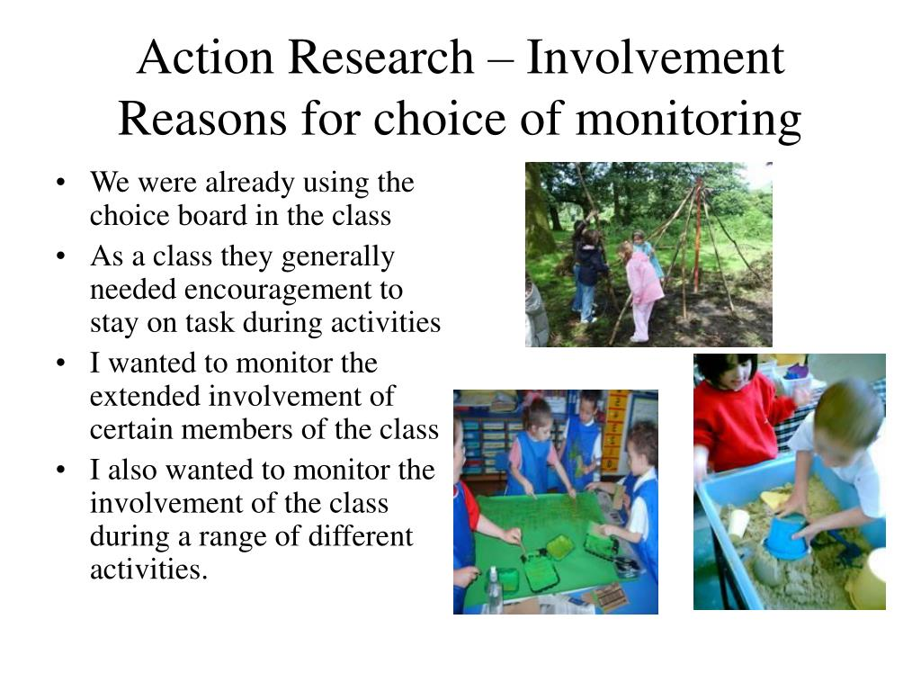 Action Research – Involvement