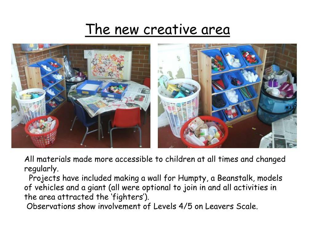 The new creative area