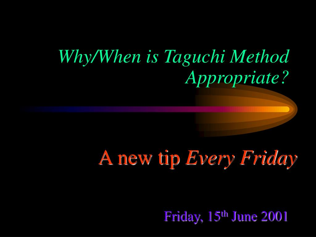 taguchi problems Taguchi approach loss target ucl all rights reserved quality loss function and tolerance design wwwnutek-uscom version: 81 ) 2) quality loss function and.