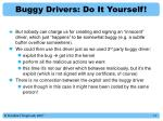 buggy drivers do it yourself