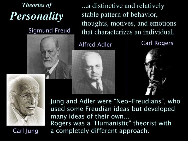 carl jung personality theory essay Jung was not, of course, alone in considering the racial well springs of the human personality (for further evidence of the volkish roots of jung's philosophy, see richard noll's the jung cult ny: the free press paperbacks, 1997) and in particular the figure of wotan.