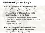 whistleblowing case study 245