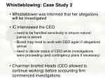 whistleblowing case study 246
