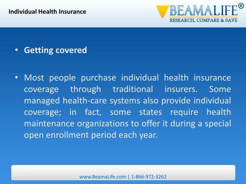 Individual Health Insurance