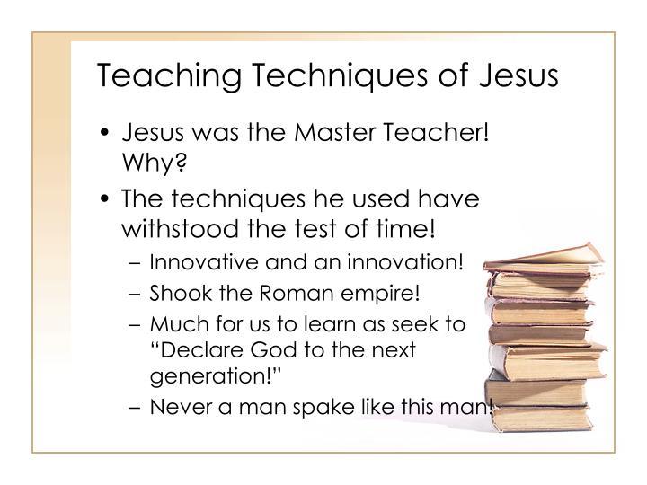 Teaching techniques of jesus3