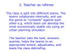 2 teacher as referee