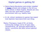digital games in getting fit