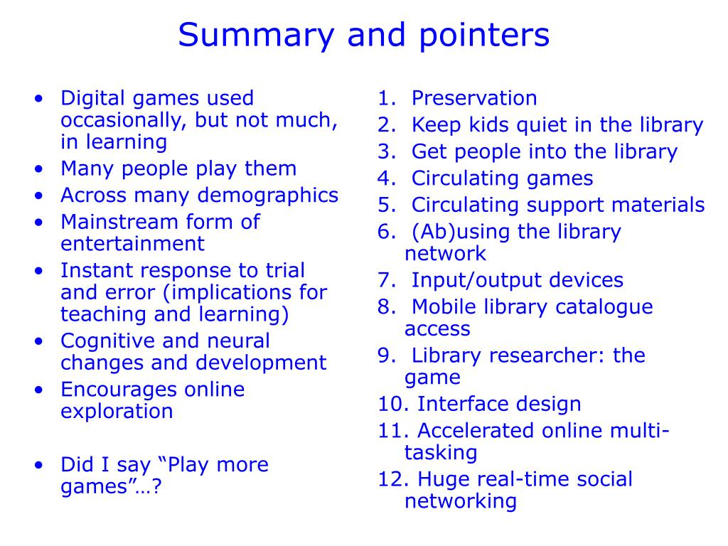 Digital games used occasionally, but not much, in learning