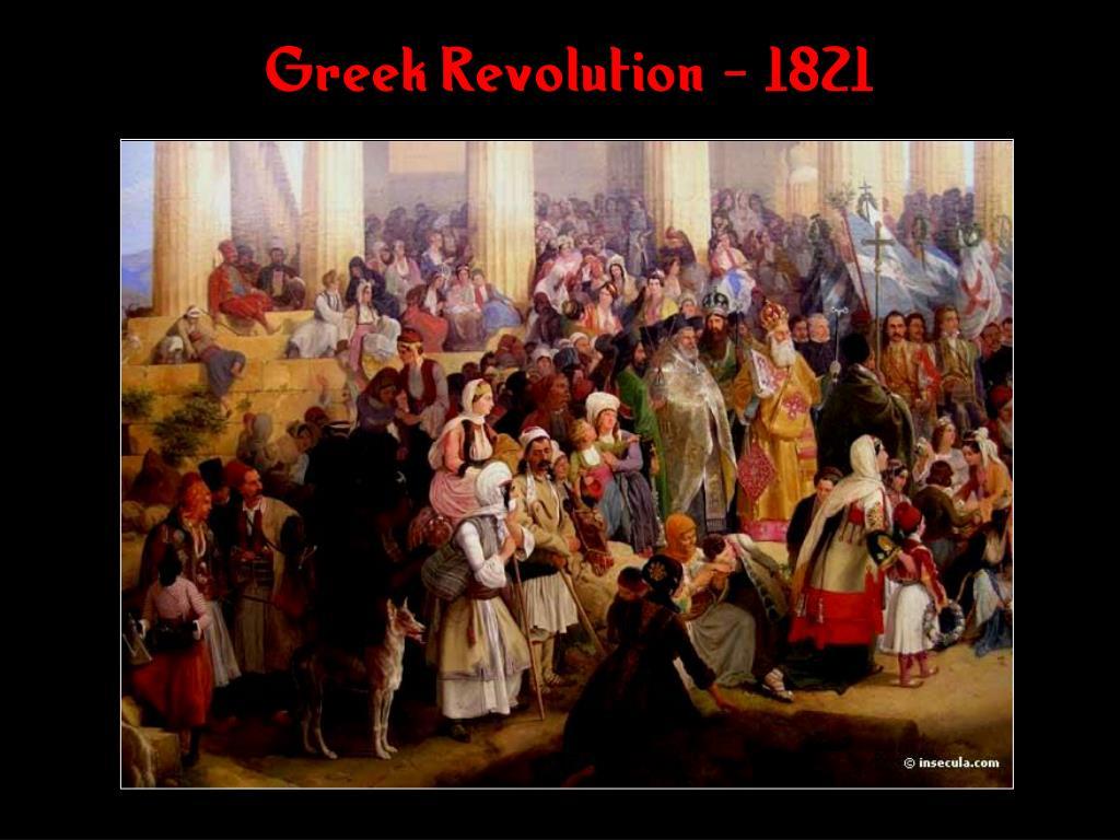 Greek Revolution - 1821