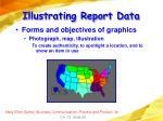 illustrating report data69