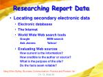 researching report data58
