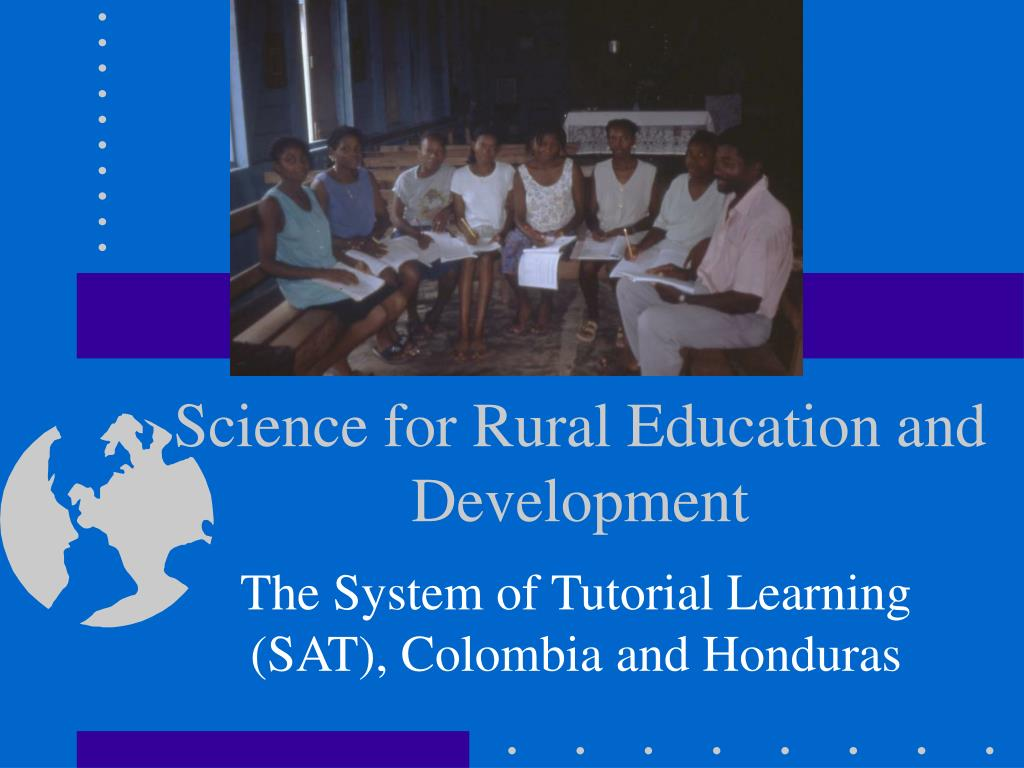 science for rural education and development l.