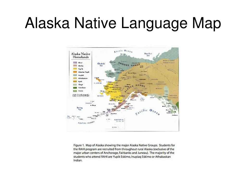 Alaska Native Language Map